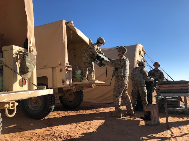 1st Armored Division participates in Warfighter Exercise to enhance operational readiness