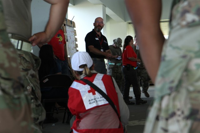 Joint Task Group-Saipan, Red Cross continue direct distribution of emergency relief supplies