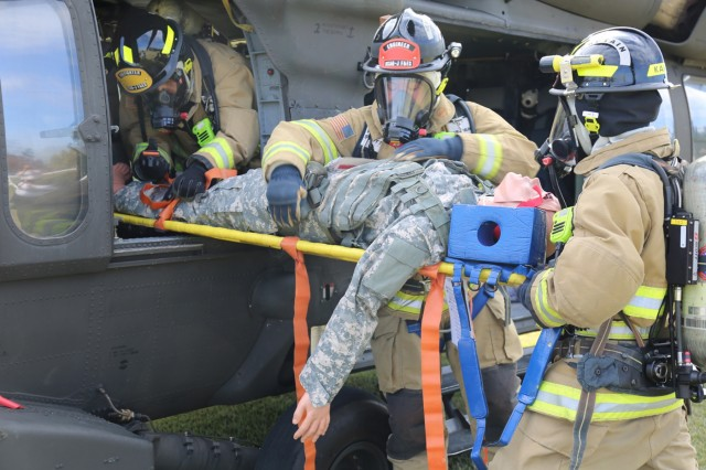 Bilateral exercise puts USAG Japan and Sagamihara City first responders to the test
