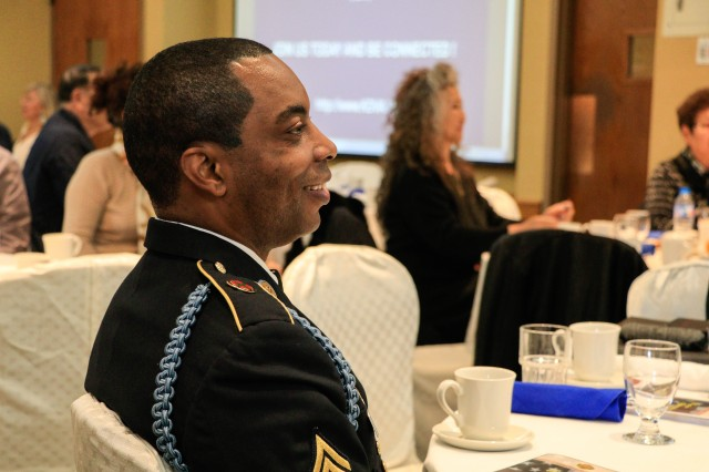 Command Sergeant Major Donald R. Robertson at the Yongsan-Casey Retiree Appreciation Day Nov. 17[removed];