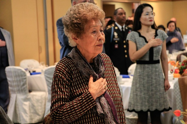 Hundreds of retired service members and family members attended the annual Retiree Appreciation Day at the Dragon Hill Lodge at Yongsan, Nov. 17.