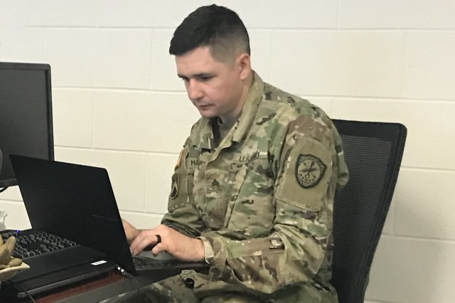 FORT GORDON, Ga. -- Sgt. Jonathan Haubrich, Headquarters & Headquarters Company, 782nd Military Intelligence Battalion (Cyber), is the overall best cyber warrior for the 6th annual Army Cyber Skills Challenge (ACSC) and was recognized in a ceremony on November 16.