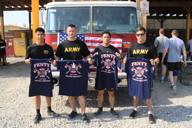 OB Fenty Fire Department and Task Force Tomahawk Remember 9/11