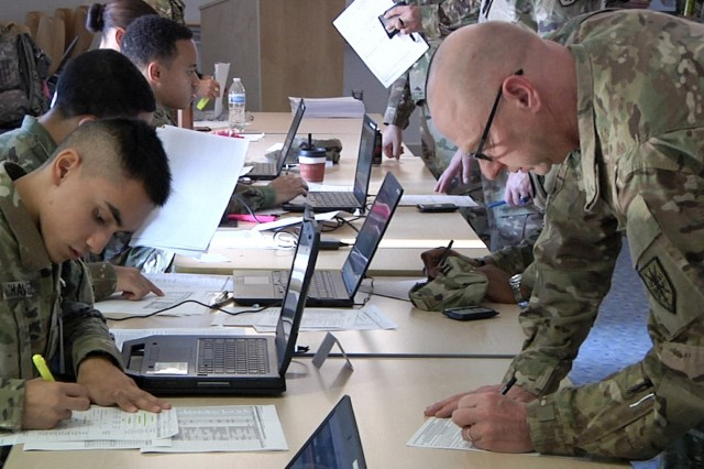 Army Reserve Soldiers check in at the Fort Belvoir Community Hospital, Nov. 3-4, 2018, for a Periodical Health Assessment (PHA) as part of Operation Capitol Medic.Operation Capitol Medic is staffed and run in partnership with the Army Reserve Medical Command's, 7250th Medical Support Unit, from Alexandria, Virginia, and the Fort Belvoir Community Hospital. Operation Capitol Medic provide hundreds of Soldiers in the Washington, D.C. area, with medical, dental and vision care,  quarterly, improving medical readiness throughout the Army. Operation Capitol Medic has helped over 1500 Soldiers maintain their medical readiness since its beginning in August 2017 through scheduled appointments and walk-ins.