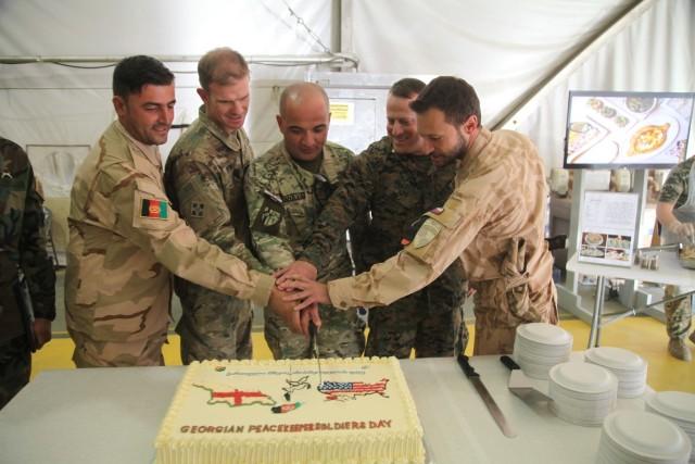 Georgian Peacekeeper's Day