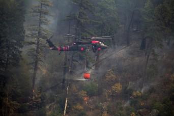 Citizen-Soldier helps contain California's deadliest fire