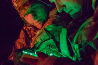 Battle Group Poland tackles the region's cold weather head on