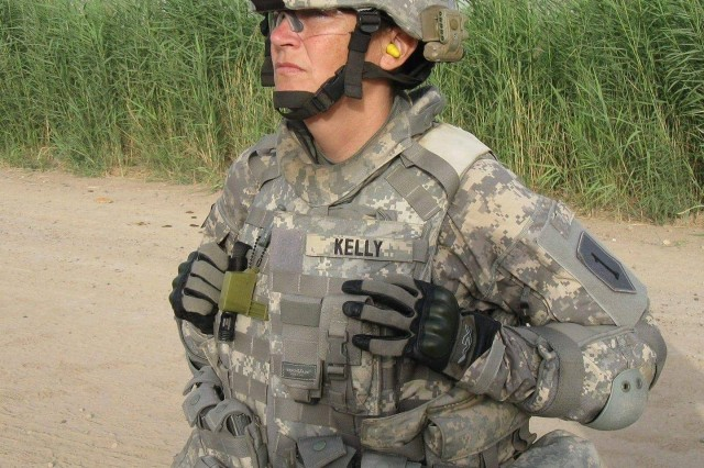 Then-Command Sgt. Maj. Julia Kelly deployed twice to Iraq during Operation Iraqi Freedom. On certain mornings, she would burn sage in a Crow tribal ritual to protect fellow Soldiers.