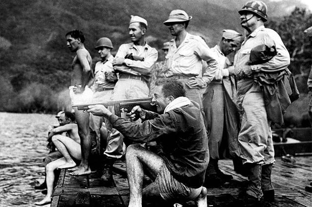 Alamo Scouts conducting weapons training.
