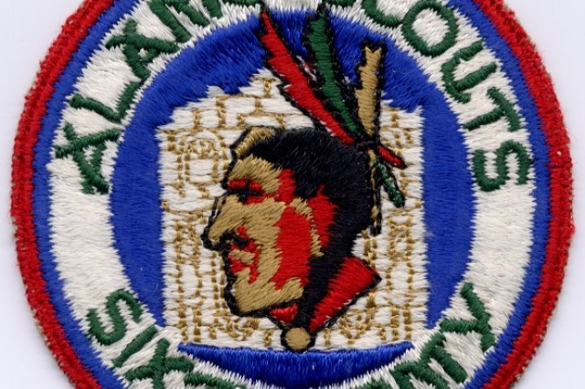 Shoulder sleeve insignia (SSI) of the Alamo Scouts.