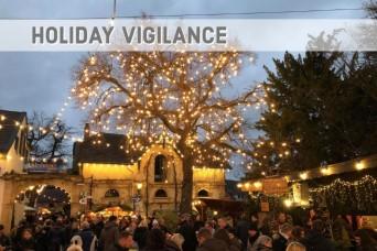 Staying vigilant through the holidays