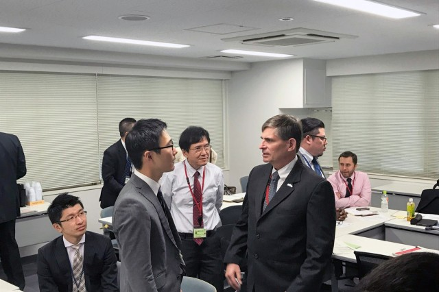 Engineers and architects from Japan Engineer District and the Japanese Ministry of Defense met for the fourth Technical Forum on November 9.
