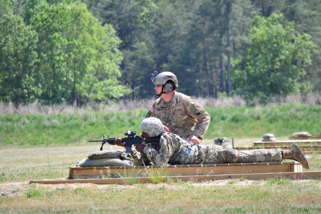 This year the unit focused on weapons training, combat lifesaving, and Army Warrior Tasks. The training wrapped up with a field training exercise, which allowed the Soldiers to demonstrate their leadership and military occupation skills.