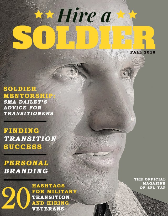 Soldier for Life -- Transition Assistance Program launches Hire a Soldier magazine
