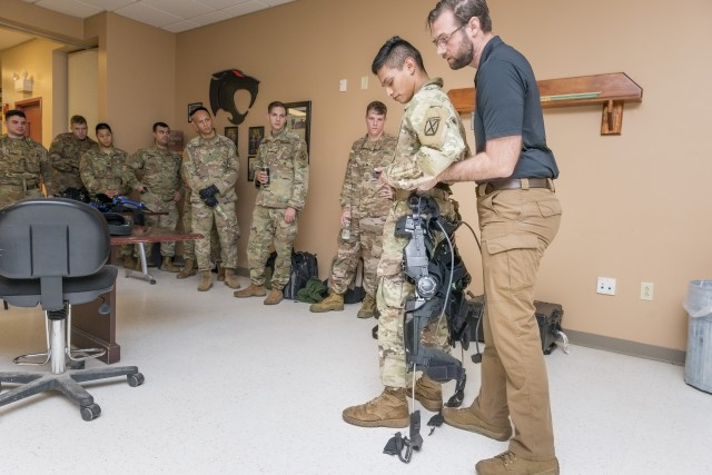 RDECOM Soldier Center exoskeleton