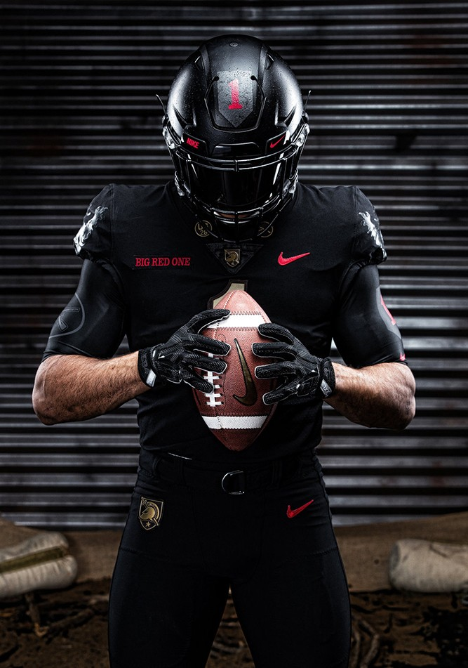 Army Football to honor 1st Infantry Division with Army-Navy uniforms ... 0286a50c3