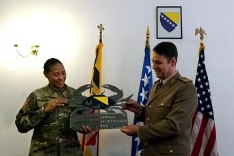 Maryland Guard, Bosnia-Herzegovina armed forces celebrate 15-year partnership