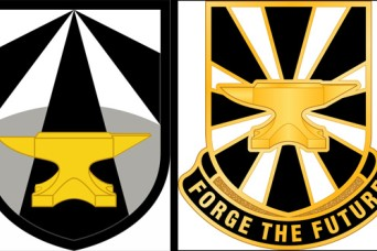 Futures Command reveals new insignia as it 'forges' ahead
