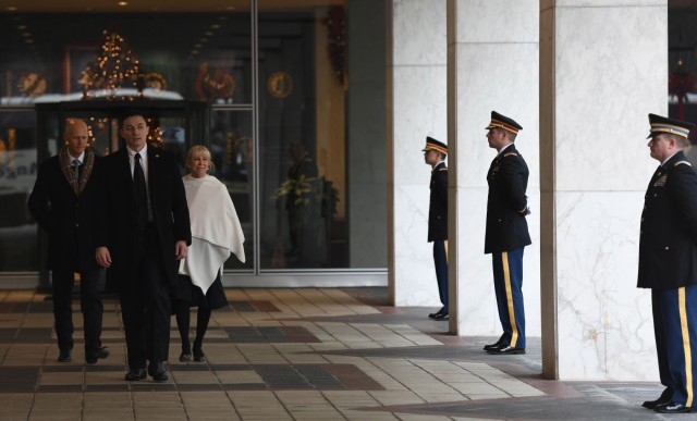 D.C. Guard supports state funeral of George H.W. Bush, 41st President of the United States
