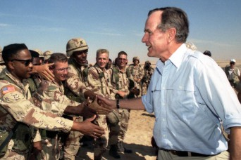 Bush's legacy includes decisive military action