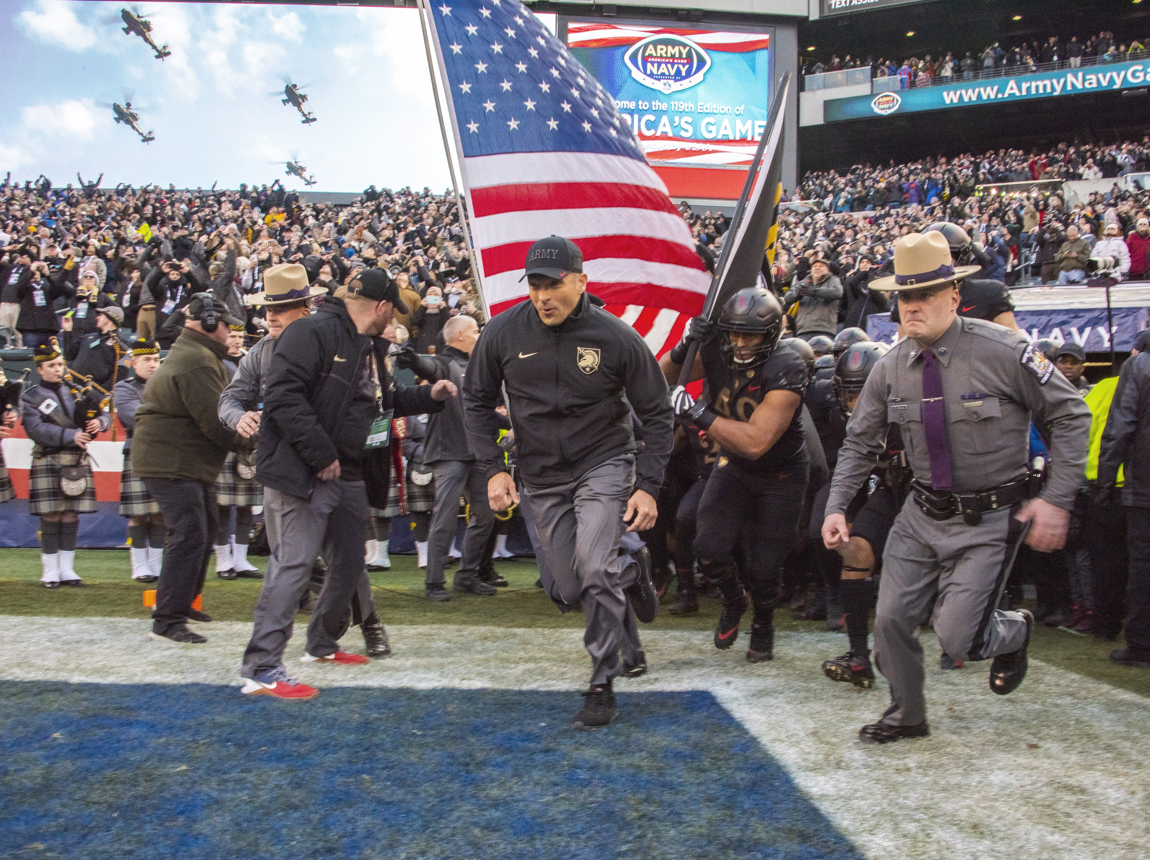 Cadets revel in annual rivalry as Army wins third straight against