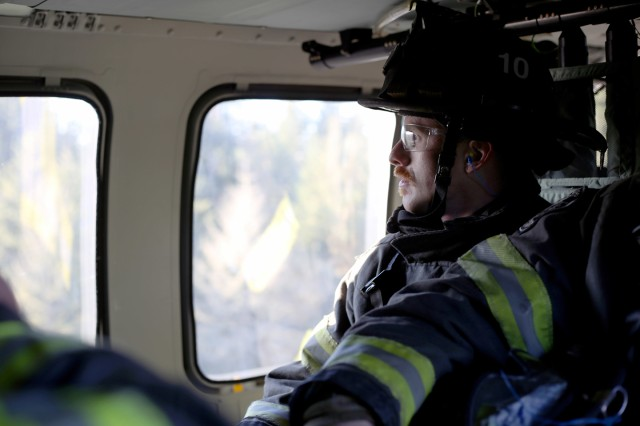 The Seattle Fire Department conducts training with the