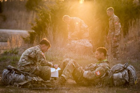 The 12th annual Best Sapper Competition opened Sunday with opening ceremonies held at Training Area 160, Fort Leonard Wood, Mo., April 17, 2018.