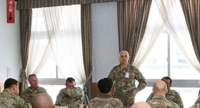 United States Army Pacific Command Sergeant Major at Yama Sakura