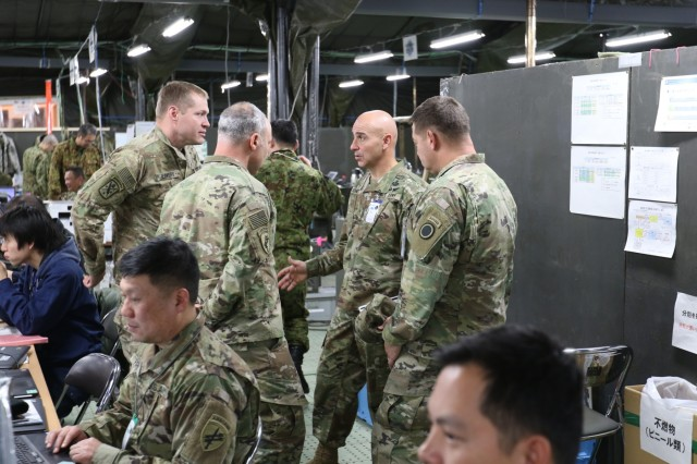 .S. Army Pacific Command Sergeant Major Visits Japan For Exercise Yama Sakura
