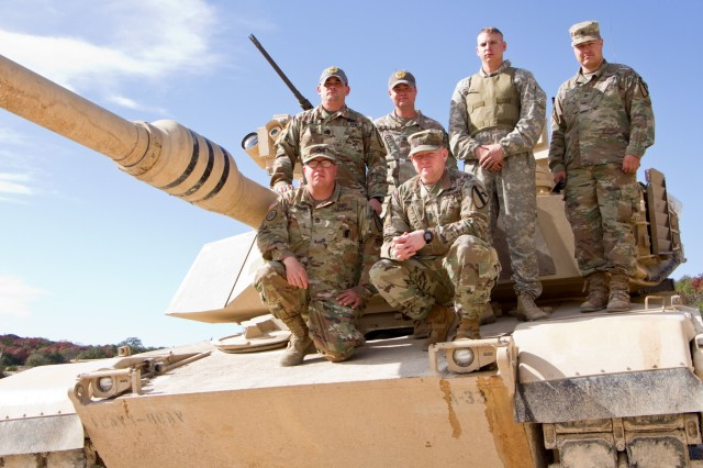 The master gunners for the M1 Abrams main battle tank for 2nd Armored Brigade Combat Team, 1st Cavalry Division. They are the technical and tactical experts for their weapon's platform. The master gunner advises the commander on everything related to the vehicle platform and weapon's system.