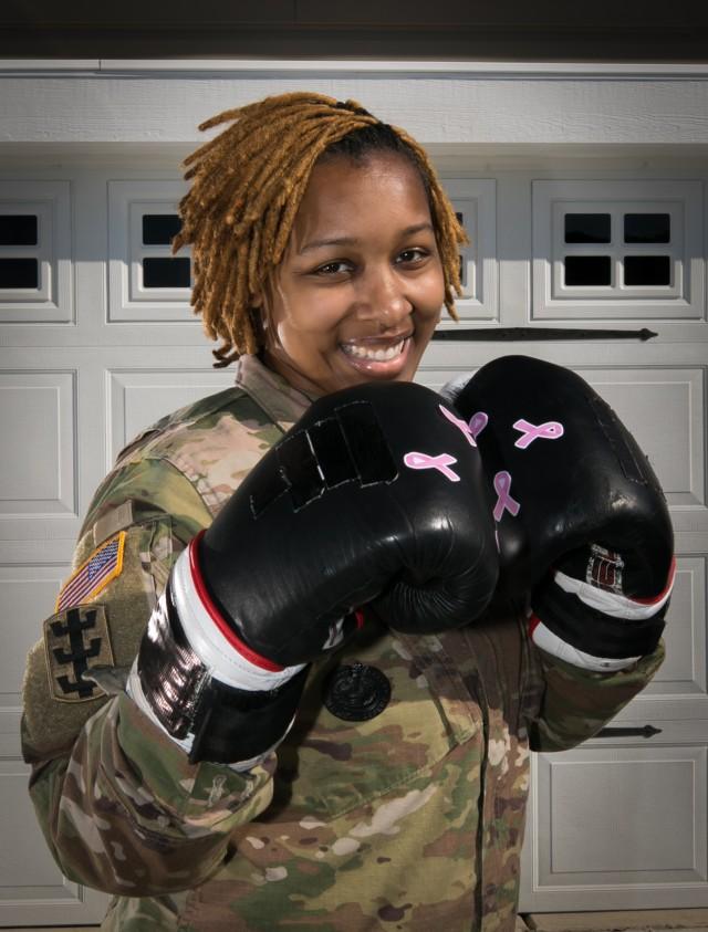 Fort Bragg Soldier, breast cancer survivor, fights on