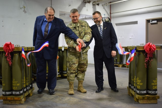 Crane Army Cuts Ribbon on Streamlined, Flexible Manufacturing Complex