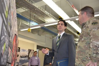 Michigan National Guard Soldiers frame the future