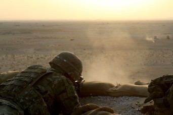 Like Clockwork: Task Force Spartan Soldiers a source of power, stability in the Middle East