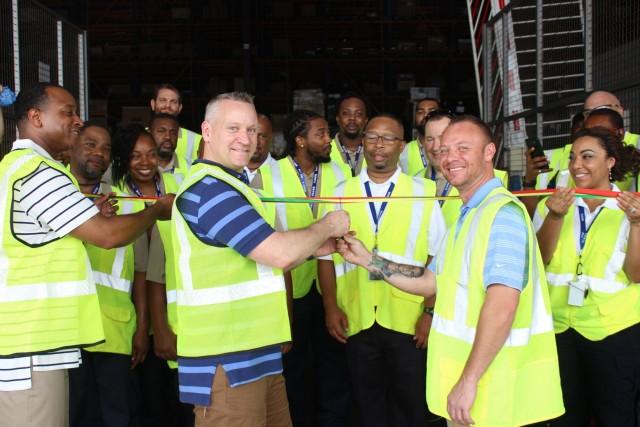 West African Logistics Network Ribbon Cutting
