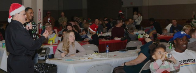 XVIII Airborne Corps hosts holiday party