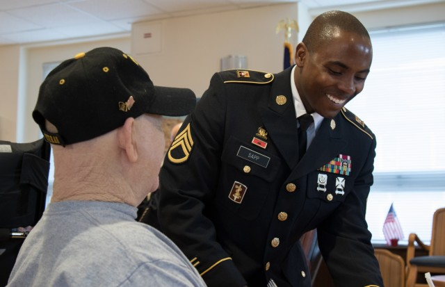 Fort Bragg Contracting Soldiers give back, serve brunch to area veterans