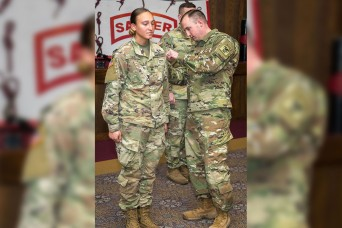 First enlisted female graduates Army's Sapper Leader Course