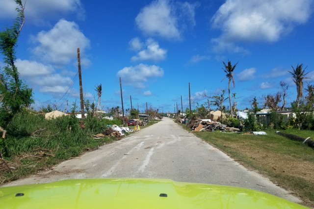 Super Typhoon Yutu left the country of Saipan with tore off roofs, collapsed houses and tore down power lines.
