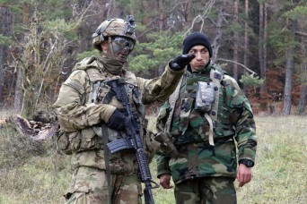 Combat training exercise puts interoperability at forefront