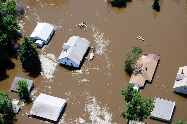Flooding in Minot, ND 2011