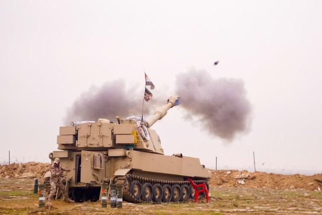 Brave Rifles Troopers on Firebase Saham