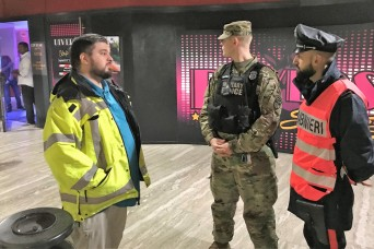 American and Italian Joint Patrols Enhance Protection in Vicenza