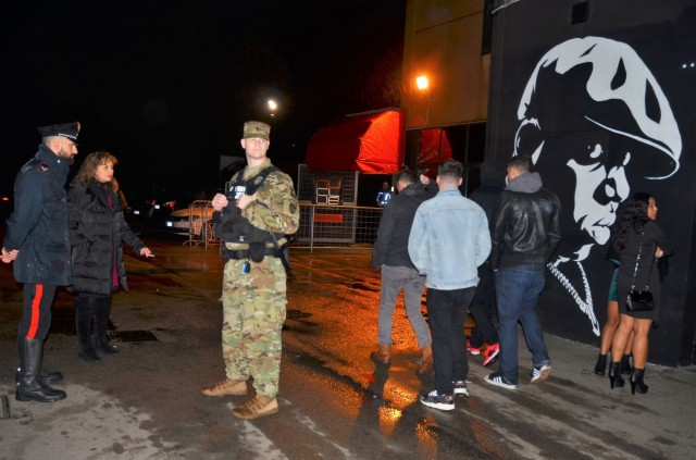 AMERICAN AND ITALIAN JOINT PATROLS ENHANCE PREVENTION IN VICENZA