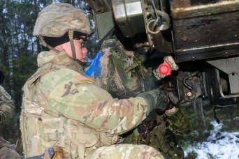 Christmas thunder sharpens skills, improves U.S., Estonian military teamwork