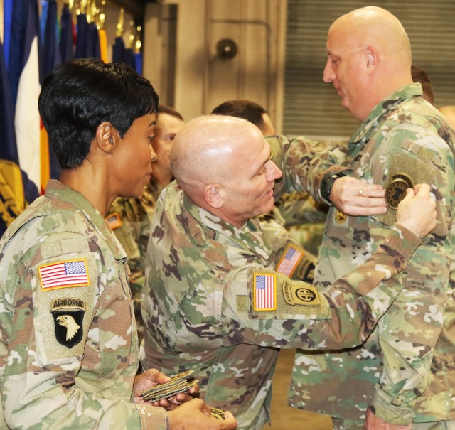 Marketing and Engagement Brigade Patch Ceremony