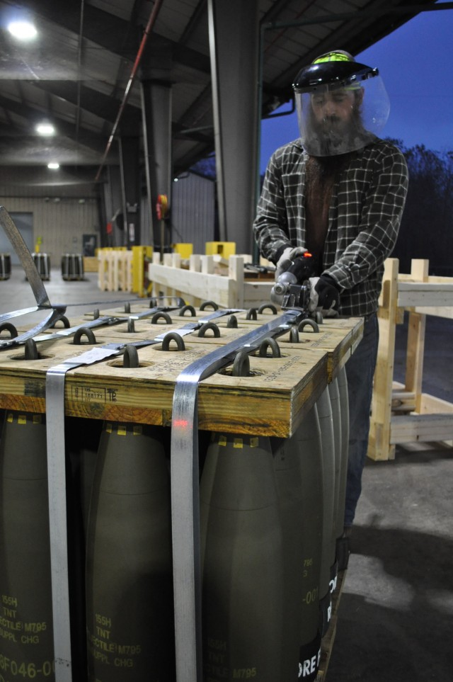 Crane Army Increases Munitions Readiness Posture
