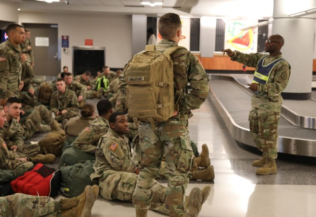 8,000 CASCOM AIT Soldiers head home for the holidays