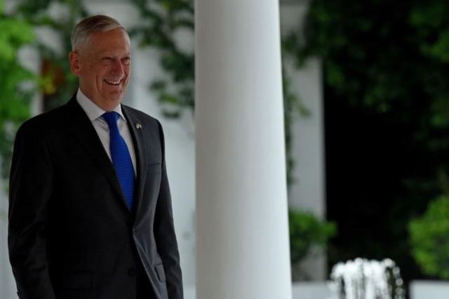 Secretary of Defense James N. Mattis