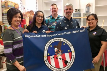RSSC-PAC supports YMCA Food Pantry for the holidays